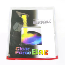 Clear Force Bag Mentalism MagicTricks amazing toys Transparent Bags close up magic 400magic