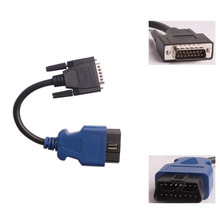 New cable PN 444009 J1962 for GMC Truck W/CAT Engine for NEXIQ 125032 USB Link + Software Diesel Truck Diagnose