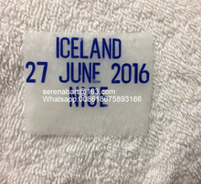 2016 England Match Details England Vs Iceland Soccer Patch Badge(China)