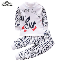 Baby boy girl clothes for kid babies boys Clothing for newborns baby outfit children's pajamas Pyjamas wear boy up to 1 2 3 year(China)