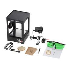 Engraving Machine1000mW High Speed Miniature Laser  Print Engraver Carver Automatic DIY Carving Off-line Operation