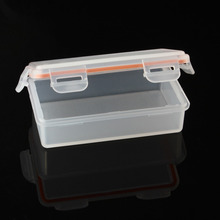 NEW Soshine Portable Hard Plastic Case Holder Storage Box for 2x 18650 Battery(Batteries are not included)(China)