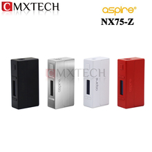 Original Aspire NX75-Z TC/VW Box Mod NX75 Zinc Alloy With all-new CFBP Feature Best Match with Aspire Atlantis EVO Tank