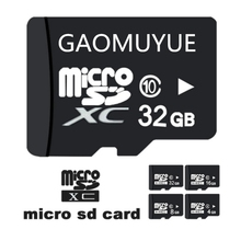 Micro SD Card C10-XC UHS-1 8GB 16GB 32GB 64GB Microsd Flash in Memory Card C10 Mini SD Card 32GB 16GB + tf cards SD adapter DJ1