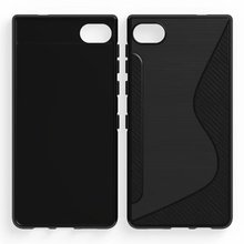 Carbon Fiber S Line Soft TPU For BlackBerry Krypton/BlackBerry Motion Case Gel Skin Back Silicon Cover(China)
