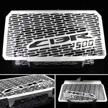 2016 New Arrival Stainless Steel Motorcycle Radiator Guard For HONDA CBR 500 500R CB500F CB500X Free shipping