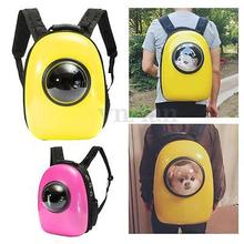 Fashion Portable Dog Cat Pet Backpack Pets Carrier Bags Quoted Puppy Travel Astronaut Capsule Bag
