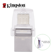 Kingston Type-C USB Flash Drive 3.1 Pendrive 16GB 32GB 64GB Pen Drive Memory Stick Flash Memoria USB 3.0 16 GB 32 GB 64 GB(China)