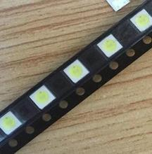 Free shipping 50pcs/lot LG SMD LED 3535 6V Cold White 2W For TV/LCD Backlight LATWT391RZLZK best quality.