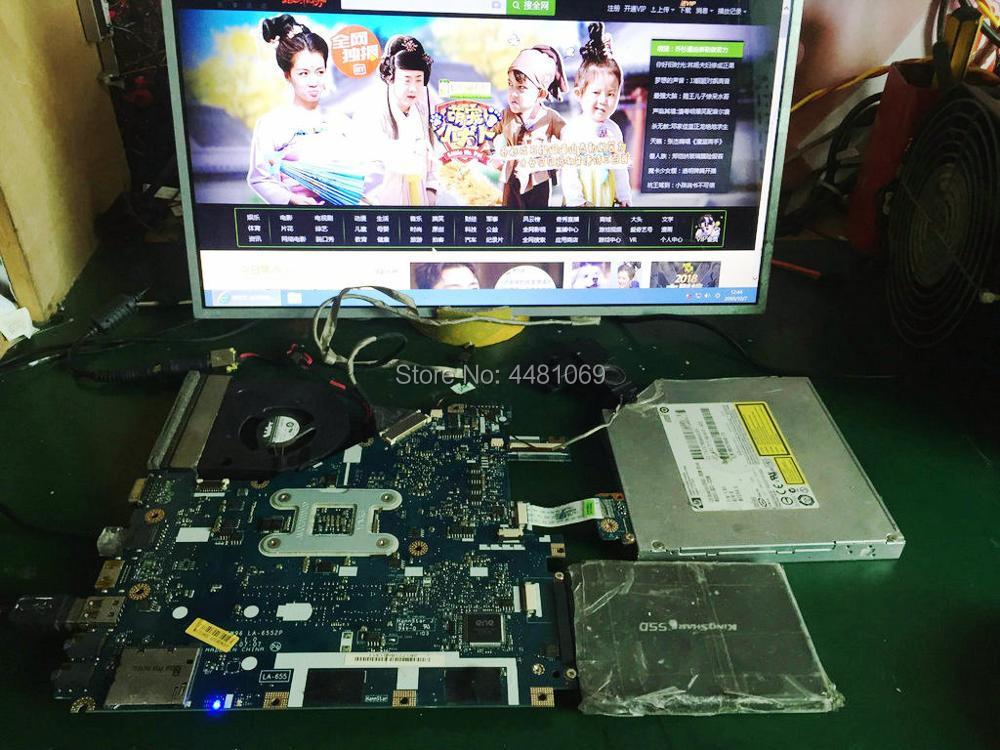 Acer 5252 5552 laptop Motherboard LA-6552P MBR4602001 100/% tested ok