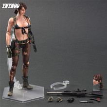 YNYNOO Sexy Girl Figure Metal Gear Solid V Venom Snake Quiet Cosplay lingerie PVC Figures Model baby Kids Toy Soldiers toys