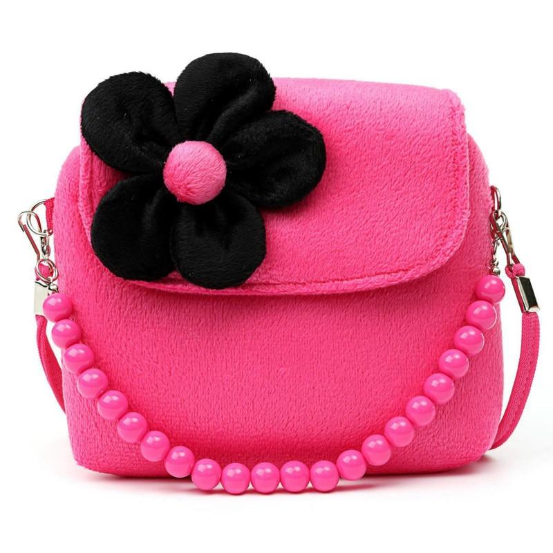 Children Kids Girls Big Bow Handbag One Shoulder Messenger Mini Bag Cute