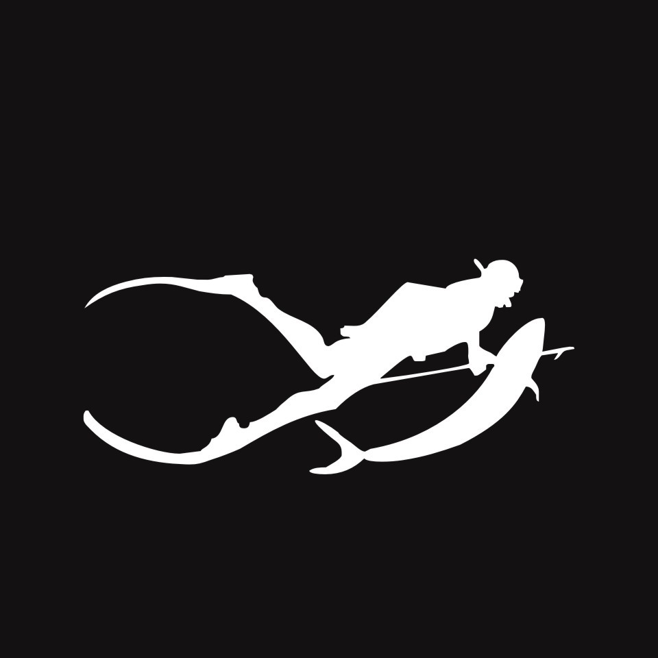 Cunymagos Free Diving SpearFishing Diving Snorkelling Vinyl Decal Sticker Car-styling Motorcycle Auto Wall Stickers 17.77 (4)