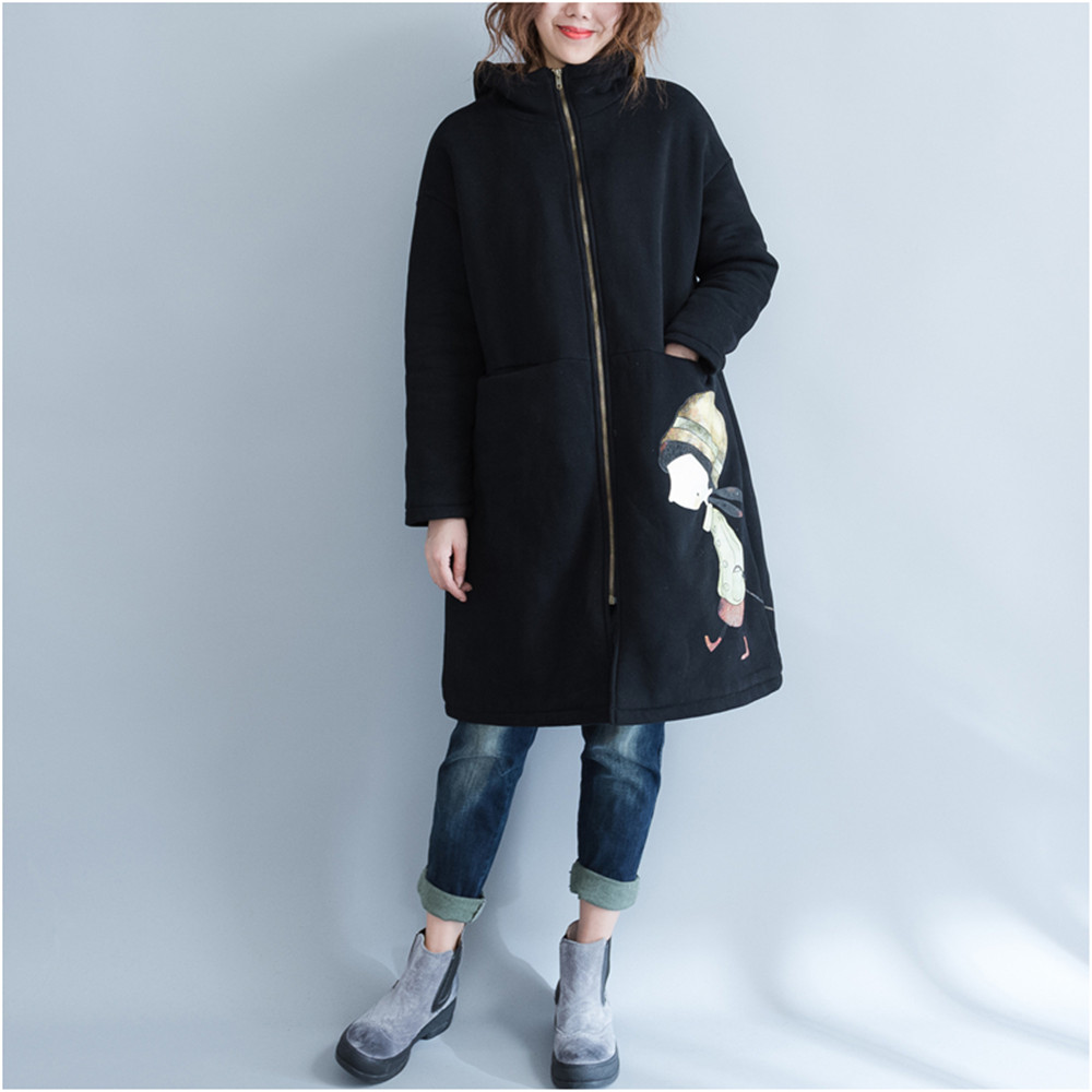 Printing Zipper Pregnancy Hooded Sweater Maternity Coat Women Hoodie Outerwear Coat For Pregnant Women Autumn Winter Hoodies<br>