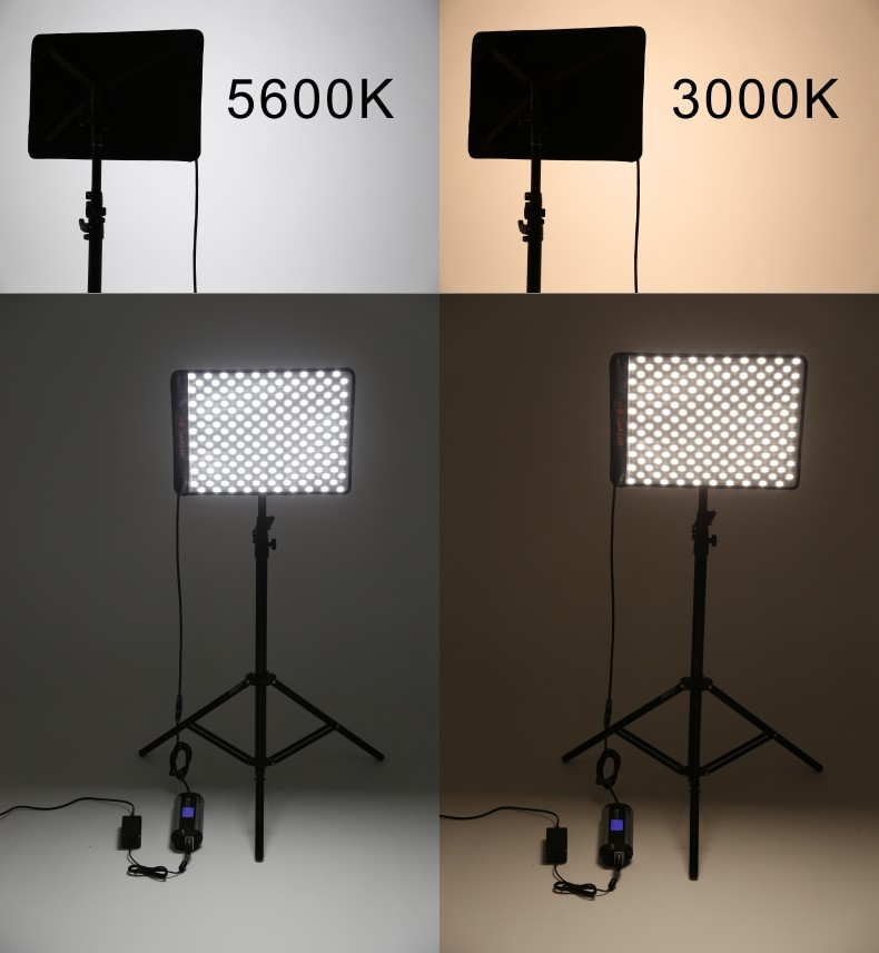 Falcon Eyes RX-12TD 50W 280pcs 3200-5600K waterproof Photography Light Portable LED Photo Light Flexible LED Photo Light 03