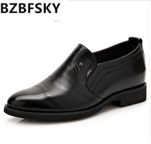 Buy BZBFSKY Tangnest Luxury Brand Men Oxford Flats Pu Leather Male's Elevator Shoes Solid Slip-on Men Formal Dress Shoes Size 37~44 for $28.78 in AliExpress store