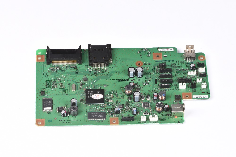 Free Shipping Original EP-702A Formatter Board logic Main Board MainBoard mother board for Epson TX650 PX650 printer<br>