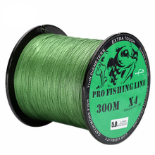 300M Braided PE Fishing Line Super Strong 4 Strands Fish Wire For Sea Fishing Carp Brand Fish Rope Cord Peche(China)