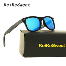 KeiKeSweet Polarized 2140 Women Man Rivet Hot Brand Designer Sunglasses Rayed Male UV400 Top Aviation Sun Glasses With Case(China)