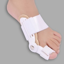 2 piece/ set Toe Separator Feet Care  Stretchers Foot Pads Enhanced Orthopedic adjust big toe Pain Relief