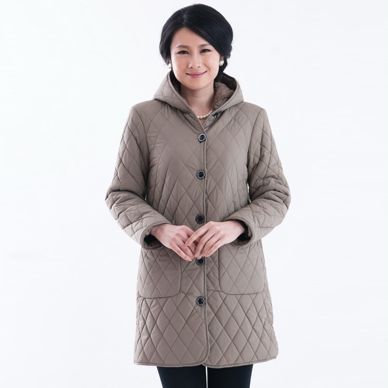 Plus Size XL-6XL New Middle Age Women Winter Jacket Long Hooded Cotton Parka Casual Outerwear Coat Women Abrigos Mujer YC520Одежда и ак�е��уары<br><br><br>Aliexpress