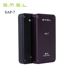 Buy New Version SMSL SAP-7 HIFI Portable Headphone Power Amplifier Aluminum Enclosure Headphones AMP Integrated Amplificador Black for $59.99 in AliExpress store