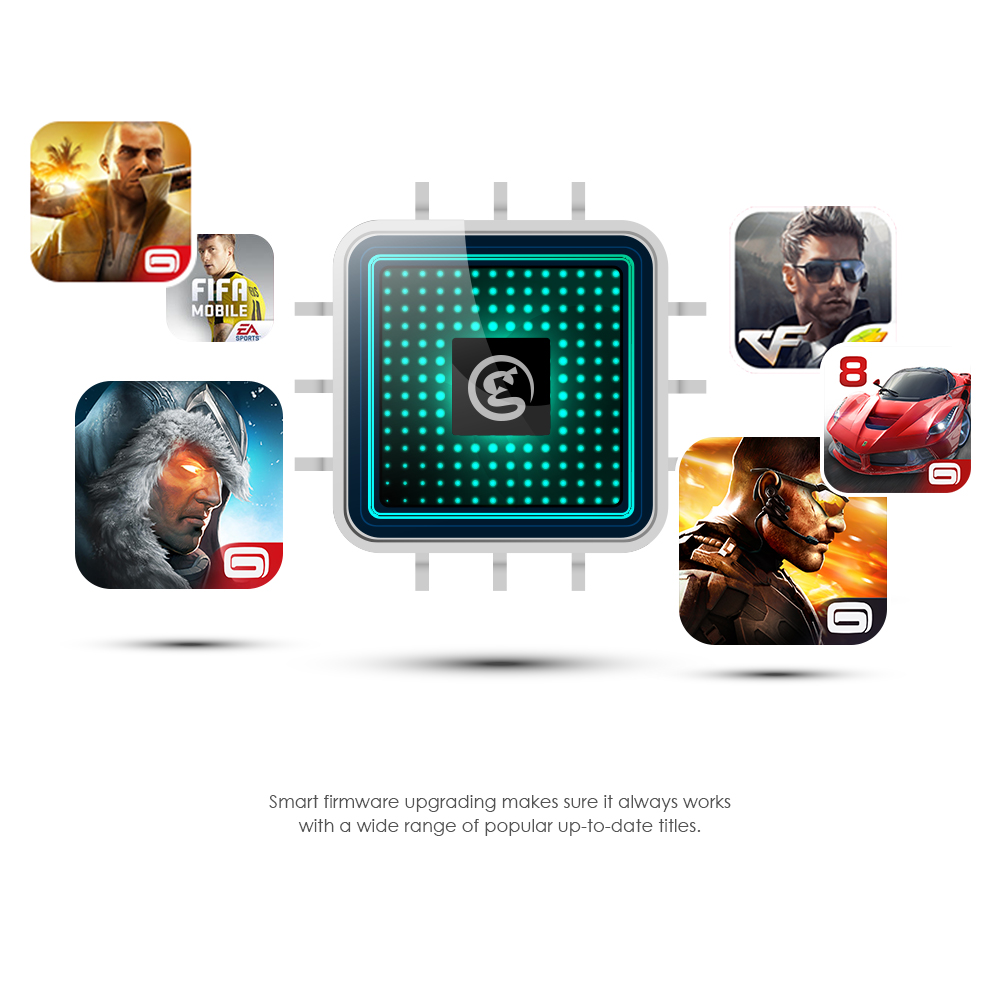 GameSir T2a 2.4G Bluetooth Wireless USB Wired Controller Joystick for Android Phone, TV Box, Windows (Ship from CN, US, ES)