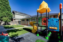 North American Standard Rubber Coating Children Playground Set Anti-rust Entertainment Facilities Top Quality(China)
