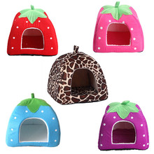 Taobao explosion kennel special offer pet nest pet cat nest nest strawberry manufacturers spot wholesale