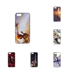 lol kayle Fashion Phone Hard PC Skin Accessories For Apple iPhone 4 4S 5 5C SE 6 6S 7 7S Plus 4.7 5.5 iPod Touch 4 5 6