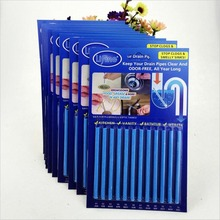 12pcs/Lot Portable Drain Cleaner Deodorizer Sani Sticks Kitchen Toilet Bathtub Sewage Decontamination Supplies 7z-bb050(China)