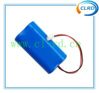 7.4V 2600mah 18650 battery pack for led light bike light and electric tool use