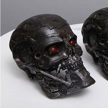New hand made OGRM Terminator T600 Slayer 1:1 Skull Storage Box LED Eyes Can Be Lit New In Stock Now RETAIL BOX WU783
