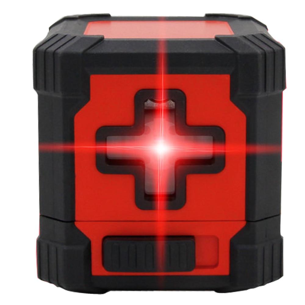 Laser level Laser Infrared mini Level 2 line  cross levelling  laser level tools Building / Woodworking Tools<br>