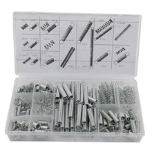 Fixmee Box of 200pcs Small Metal Loose Steel Coil Springs Assortment Kit Assorted(China)