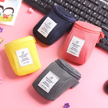 Portable Hard Drive Carrying Case USB Cable Memory Card Charger HDD Pouch Storage Bag(China)