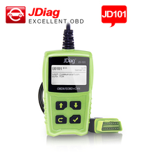 JDiag JD101 Code Reader scaner Works for OBDII&CAN Multilingual diagnostic tool 2 colors choice Read and clear fault code(China)