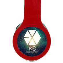 MLLSE Fashion KPOP EXO Custom Logo Headphones Gaming Headset Stereo Headphones with Microphone for Iphone Samsung Huawei Mp3 PC