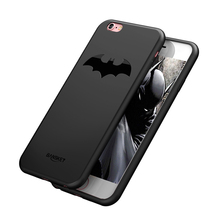 Luxury Batman Case For iPhone 6 6S / 6 6S Plus Cover Coque Slim Soft TPU Back Full Protective Phone Case For iPhone 7 / 7 Plus