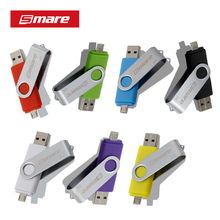Smare OTG USB Flash Drive Pen Drive Smartphone 64GB/32GB/16GB/8GB/4GB Flash Drive USB 2.0 Flash Drive for smart phone