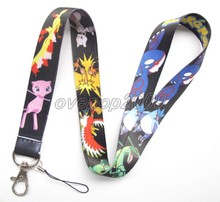 Lot 10Pcs Pokemon Pikachu Anime Mobile Cell Phone Lanyard Neck Straps Party Gifts S87