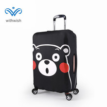 "Plus-size S/M/L/XL Elastic Suitcase Luggage Protective Cover Apply to 18""~32"" Traveling Case 3 Popular Cartoon Patterns Optional(China)"