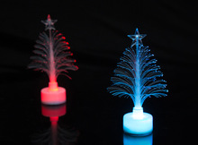 5PCS Glow in the dark Led Christmas tree Merry Christmas gift new year favors for kids friends home decoration