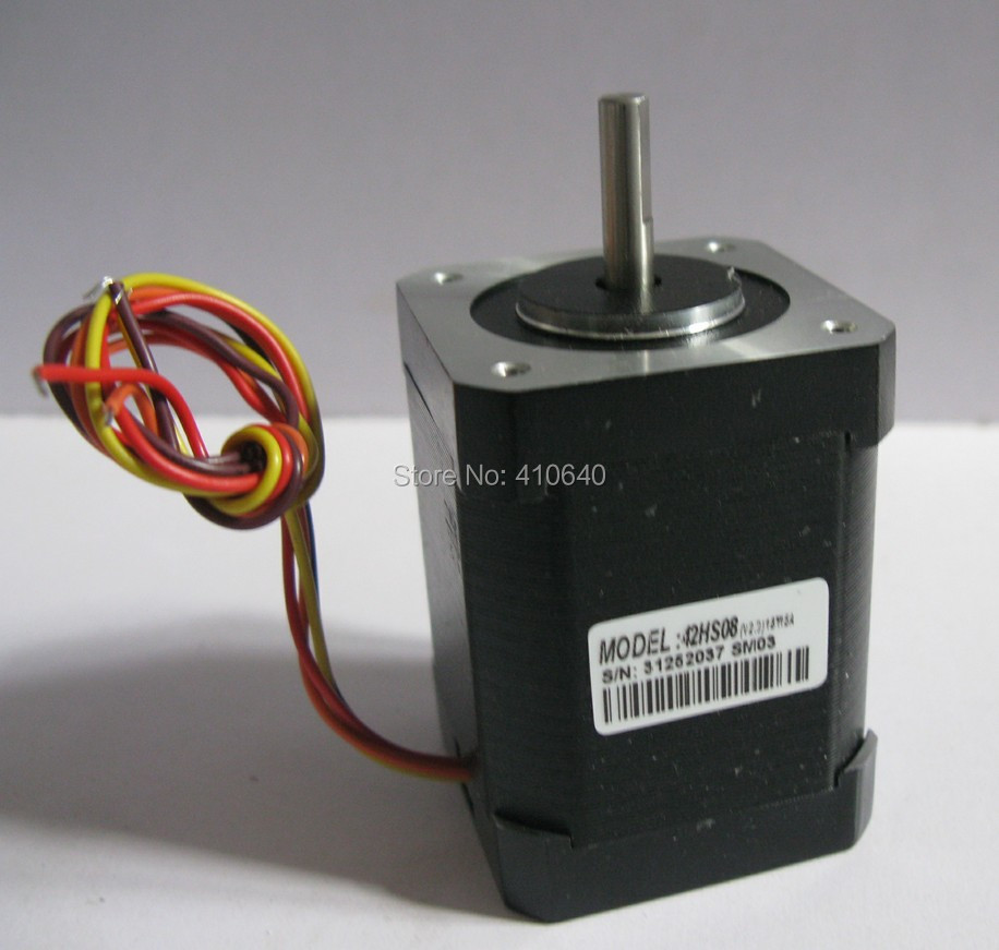 Free Shipping GENUINE Leadshine step motor 42HS08 rated current 1.5 A  with 0.6 Nmtorque body length 57mm<br>