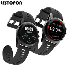LESTOPON Smart Watch Wearable Devices Fashion Smartwatch Dial Call Altitude Meter Fitness Tracker GPS Wifi Wear For Cell Phone
