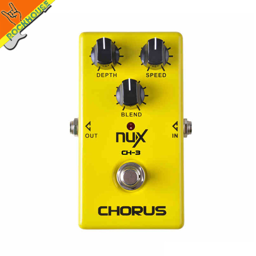 NUX CH-3 Classic analog Chorus guitar effect pedal chorus guitarra effects embellishment for tone true bypass free shipping<br><br>Aliexpress