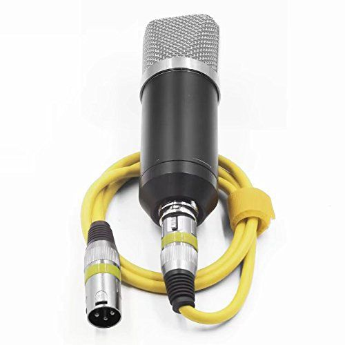 HOT-XLR Microphone Cable Male to Female,Balanced Snake Cords Speakers and Pro Devices Cable,6.5Feet/2Meters-Yellow