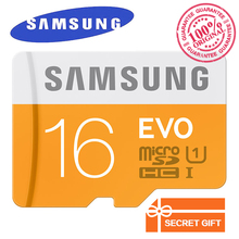 100% Original Genuine Samsung EVO micro SD SDHC SDXC TF Class 10  microsd 16GB 32GB up to 48mb/s Support Official Verification