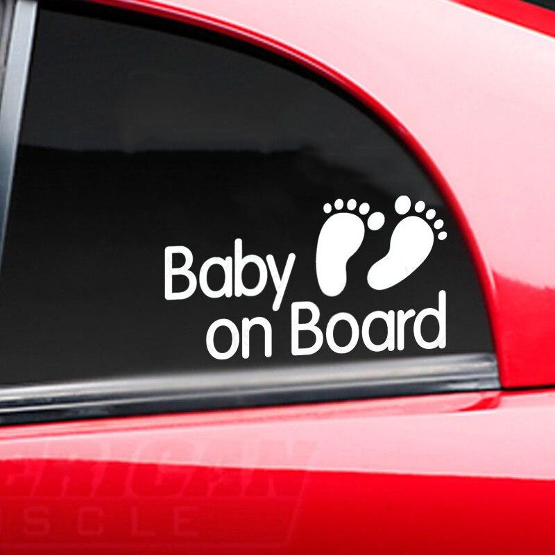 Baby On Board Vinyl Sticker, Kids, Boy, Girl, Van, Family, JDM Decal Toyota