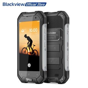 Blackview BV6000S 4G Smartphone 4.7 pouce 1280x720 HD MT6737T Quad Core Android 6.0 2 GB + 16 GB 8MP Étanche IP68 Téléphone Portable